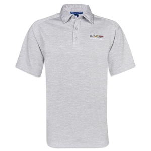 Cadillac Racing Digi Heather Polo